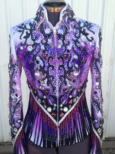 fringed western show shirt - Google Search