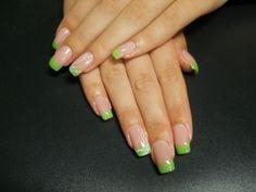 Foto Nailart Katya-Nails French Grün