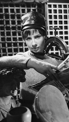 Carole Ann Ford as the Doctor's Granddaughter Susan. The 1st Companion to the 1st Doctor one might say.