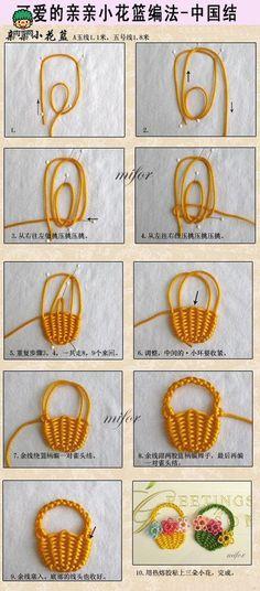 Chinese knot - basket