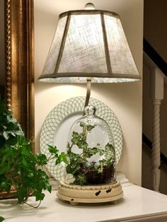 """We just added several new lamps to our collection on QVC.com, including the H292755 20"""" Favorite Things Lamp, which can be filled with seasonally appropriate items. http://qvc.co/-Shop-ValerieParrHill"""
