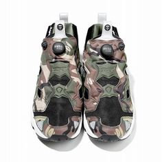 Reebok × AAPE BY BAPE Pump Fury