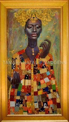 African Art gallery for African Culture artwork, abstract art, contemporary art daily, fine art, paintings for sale and modern art Art Et Design, Artwork Design, Afrique Art, Frida Art, Black Artwork, Afro Art, Arte Pop, Black Artists, Black Women Art