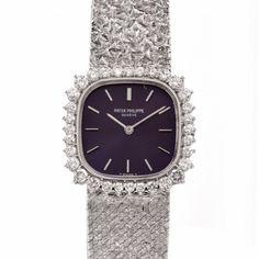 Patek Philippe Ellipse 18K Gold Diamond Ladies Watch Item    126202 Vintage Watches  Women ed2c7e9868
