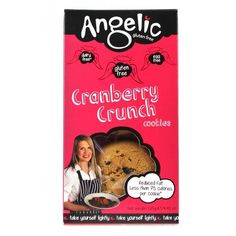 Angelic Gluten Free Cranberry Crunch Cookies 125g