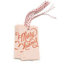 Merry Christmas Gift Tags - Furbish Studio