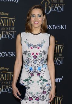 Aubrey Plaza – 'Beauty and the Beast' Premiere in Los Angeles 3/2/ 2017