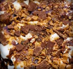 ice cream_sandwich cake with chopped Heath bars