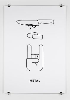 Music Genres Poster Series