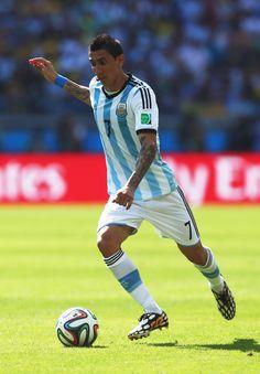 Angel Di Maria Photos - Argentina v Iran: Group F - 2014 FIFA World Cup Brazil - Zimbio