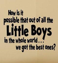 Best Little Boys/ Childs Room Vinyl Wall by madebytheresarenee, $17.99