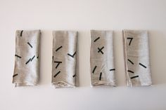 linen napkins on sale on my site: http://carolinezhurley.bigcartel.com/product/napkins-sticks