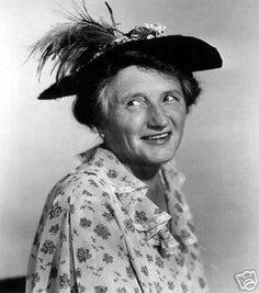 """Marjorie Main - born in Fairland, Shelby County, IN - she was """"Ma Kettle"""""""