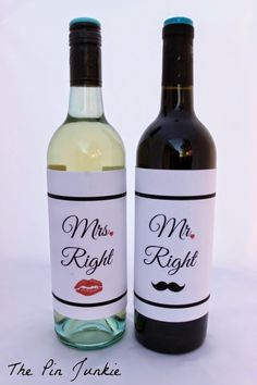 Step by step tutorial on how to design and print your own wine labels for any occasion.