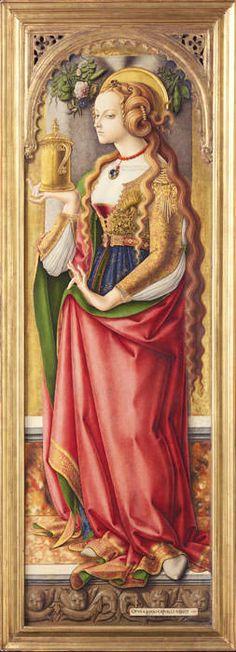 Carlo Crivelli Maria Magdalena - istanbul sanat evi