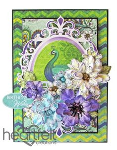Heartfelt Creations | Birthday Wishes Peacock