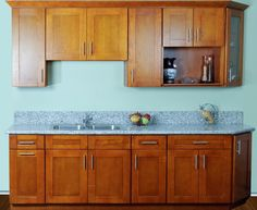 Great Cinnamon Shaker Kitchen Cabinets | BestOnlineCabinets.com