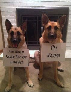 May karma never bite you...