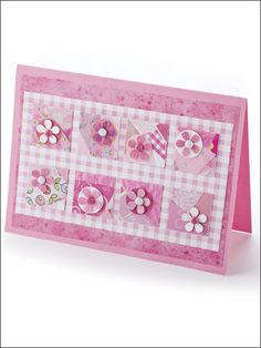 """Serendipity in Pink - PAPER CRAFTING - """"easy"""" - very pretty!"""