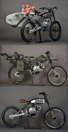 Moped mountain bike