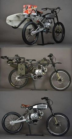 Moped mountain bike