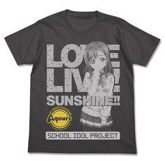 Love Live! Sunshine!! Hanamaru Kunikida T-shirt (SUMI) (M)