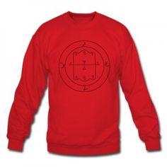 Amon Demon Sigil Sweatshirt! For the fans of the supernatural, mythological, and mystical! #demon #sigil #supernatural #occult #wicca
