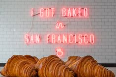 Mr Holmes Bakehouse experiences high demand from San Francisco's treat junkies... http://www.we-heart.com/2015/03/03/mr-holmes-bakehouse-san-francisco/