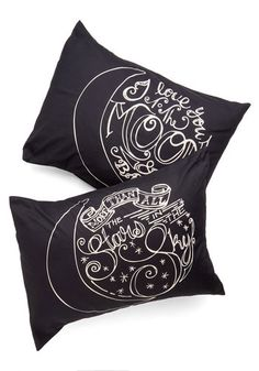 To the Moon and Back Sham Set