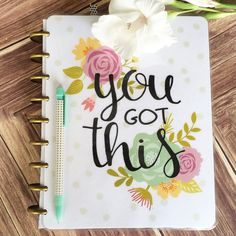 Hey, I found this really awesome Etsy listing at https://www.etsy.com/listing/243399213/happy-planner-cover-you-got-this