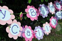 flowers and butterflies birthday party ideas - Google Search