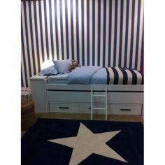 Wool Rug Star Marino / Alfombra de lana Estrella Marino Lorena Canals
