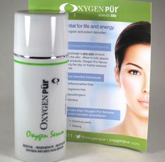 Moms Makeup Stash: Review: Oxygen PUR Oxygen Skin Serum. Anti-aging Oxygenated Serums