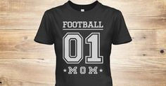 Discover Number One Football Mom Women's T-Shirt from EIGHT FAMILY, a custom product made just for you by Teespring. With world-class production and customer support, your satisfaction is guaranteed. - The perfect gift to for NUMBER 1 FOOTBALL MOM...