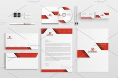 Corporate Stationery Pack by BettyDesign on https://creativemarket.com/BettyDesign/1117844-Corporate-Stationery-Pack
