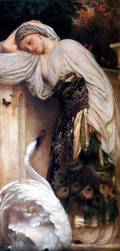 Odalisque - Frederic Leighton  1862