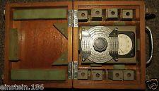 Marconi TF975 Portable Wavemeter instrument in wood case + booklet QRP ham radio