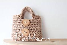 Cute crochet bag!
