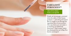 OverSoyed Fine Organic Products - Fabulously Ferocious™ Nail Lacquer