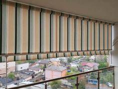 Copertina Retractabila Balcon Terasa Verticala - Extensibila 50 cm Balcony Blinds, Curtains, Outdoor Decor, Home Decor, Balconies, Blinds, Decoration Home, Room Decor, Draping