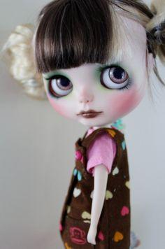Juniper a gorgeous custom Blythe doll by WillowDesignstoyshop on Etsy