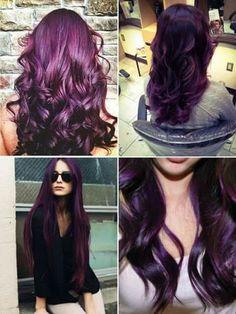 Cor  Marsala. Pra quem ama cabelos coloridos. Discreto e combina com qualquer tom de pele (na minha opinião).