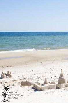 Sandcastles in the St. George Island Plantation.  #beach #gulf