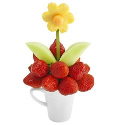 Whoops A Daisy featuring strawberries and daisy made from pineapple and honey dew is a Spring favourite.