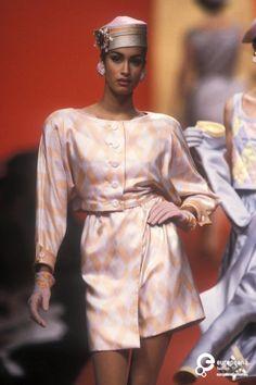 Yasmeen Ghauri - Valentino, Spring-Summer 1991, Couture