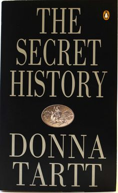 Fiction in Fashion display: The Secret History by Donna Tartt