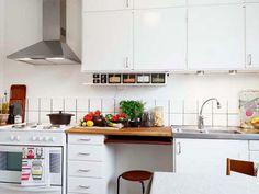 Wonderful small apartment kitchen