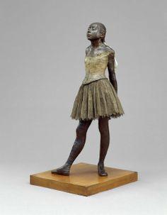 Edgar Degas, Little Fourteen-Year-Old Dancer, original model 1878–81, cast after 1921.