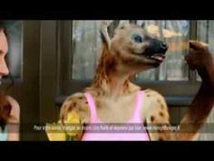 Pub - Orangina Light (hyène)