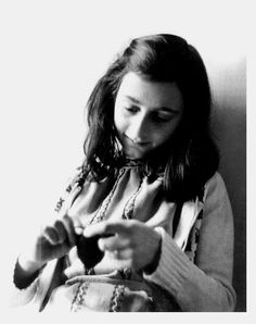 """""""No one has ever become poor by giving."""" -Anne Frank"""